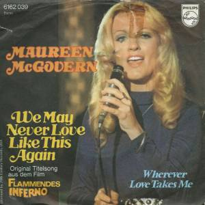 Cover - Maureen McGovern: We May Never Love Like This Before