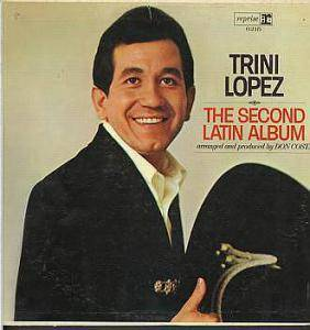 Cover - Trini Lopez: Second Latin Album, The