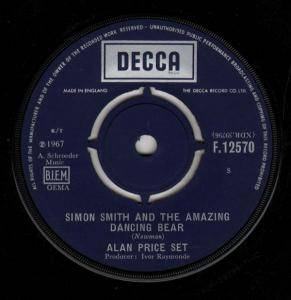 Cover - Alan Price Set, The: Simon Smith And The Amazing Dancing Bear