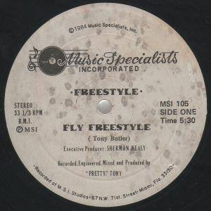 Cover - Freestyle: Fly Freestyle