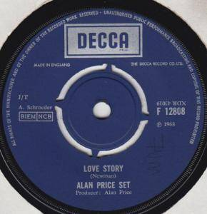 Cover - Alan Price Set, The: Love Story