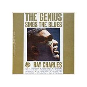 Ray Charles: Genius Sings The Blues, The - Cover