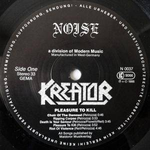 Kreator: Pleasure To Kill (LP) - Bild 3