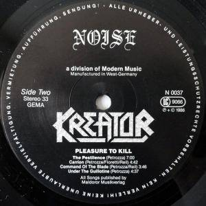 Kreator: Pleasure To Kill (LP) - Bild 4