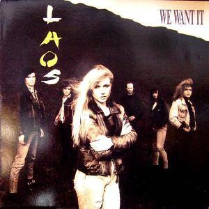 Laos: We Want It - Cover