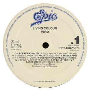 Living Colour: Vivid (LP) - Bild 3