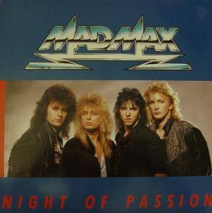 Mad Max: Night Of Passion - Cover