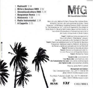 Die Fantastischen Vier: MfG (Single-CD) - Bild 2