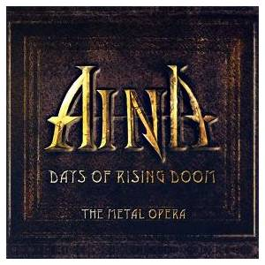 Aina: Days Of Rising Doom - The Metal Opera - Cover