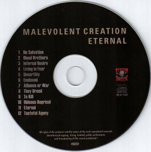 Malevolent Creation: Eternal (CD) - Bild 3