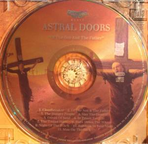 Astral Doors: Of The Son And The Father (CD) - Bild 3