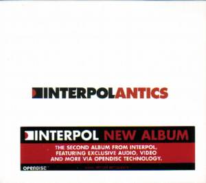 Interpol: Antics - Cover