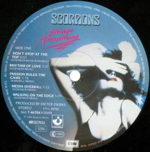 Scorpions: Savage Amusement (LP) - Bild 3