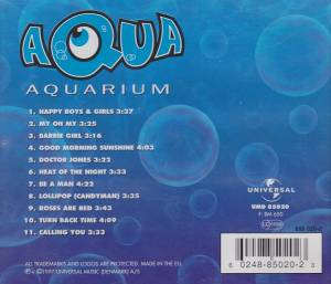 Aqua: Aquarium (CD) - Bild 2