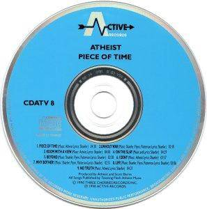 Atheist: Piece Of Time (CD) - Bild 4