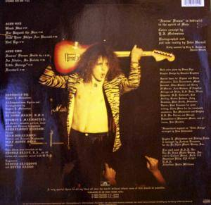 Yngwie J. Malmsteen's Rising Force: Rising Force (LP) - Bild 2