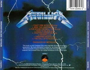 Metallica: Ride The Lightning (CD) - Bild 2