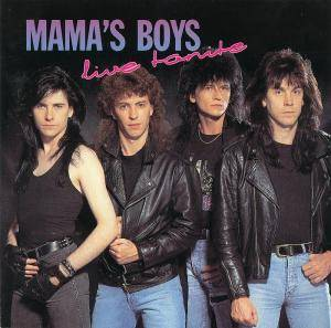 Mama's Boys: Live Tonite - Cover