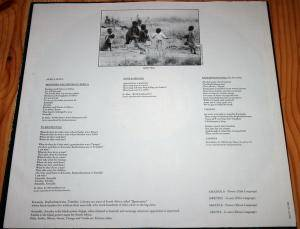 Manfred Mann's Earth Band: Somewhere In Afrika (LP) - Bild 5