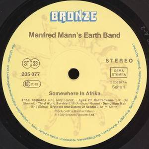 Manfred Mann's Earth Band: Somewhere In Afrika (LP) - Bild 6