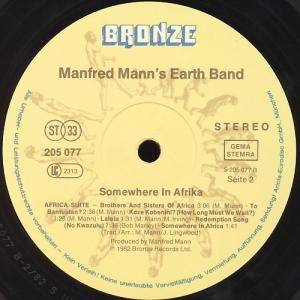 Manfred Mann's Earth Band: Somewhere In Afrika (LP) - Bild 7