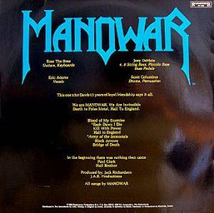 Manowar: Hail To England (LP) - Bild 2