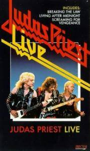 Judas Priest: Live - Cover