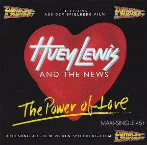 Huey Lewis & The News: Power Of Love, The - Cover