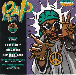 Cover - Rappin' 4-Tay Feat. The Spinners: Rap Attack Vol. 2