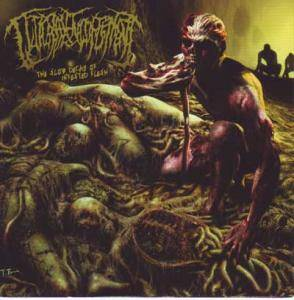 Guttural Engorgement: Slow Decay Of Infested Flesh, The - Cover