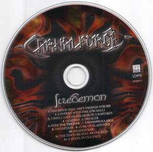 Carnal Forge: Firedemon (Promo-CD) - Bild 3