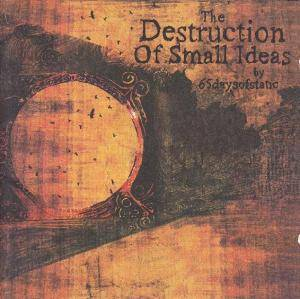 65daysofstatic: Destruction Of Small Ideas, The - Cover