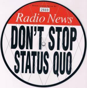 Status Quo: Don't Stop - Cover