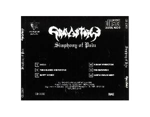 Gravestone: Simphony Of Pain (Mini-CD / EP) - Bild 2