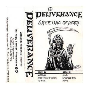 Cover - Deliverance: Greeting Of Death