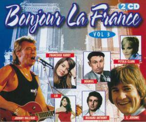Cover - Richard Anthony: Bonjour La France Vol. 3