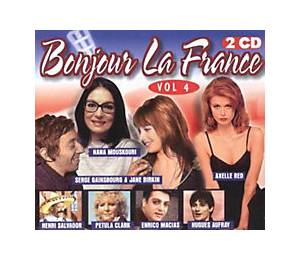 Cover - Richard Anthony: Bonjour La France Vol. 4