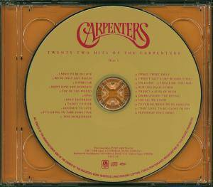 The Carpenters: Twenty-Two Hits Of The Carpenters (2-CD) - Bild 5