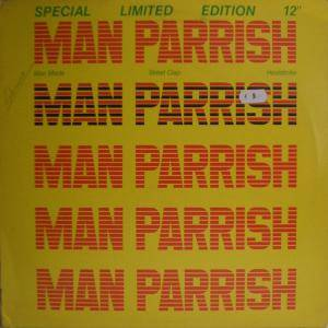 Man Parrish: Man Made - Cover