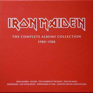Iron Maiden: Complete Albums Collection 1980-1988, The - Cover