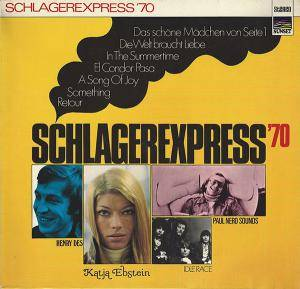Schlagerexpress '70 - Cover