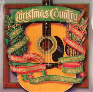 Cover - Eddy Raven: Christmas Country