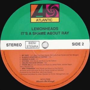 The Lemonheads: It's A Shame About Ray (LP) - Bild 4