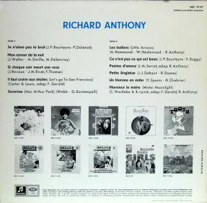 Richard Anthony: Richard Anthony (LP) - Bild 2