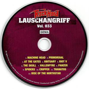 Rock Hard - Lauschangriff Vol. 033 (CD) - Bild 3