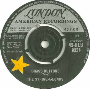 Cover - String-A-Longs, The: Brass Buttons
