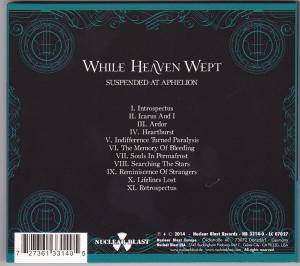 While Heaven Wept: Suspended At Aphelion (CD) - Bild 2