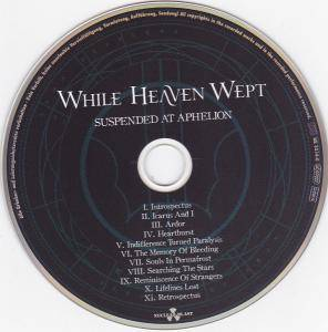 While Heaven Wept: Suspended At Aphelion (CD) - Bild 4
