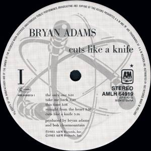 Bryan Adams: Cuts Like A Knife (LP) - Bild 3