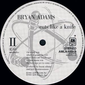 Bryan Adams: Cuts Like A Knife (LP) - Bild 4